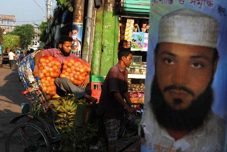 Transporting produce, Saderghat, Old Dhak