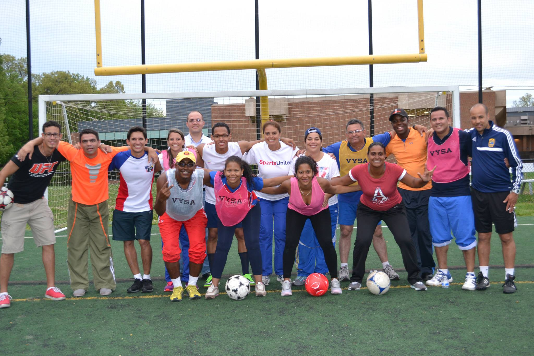 Group photo after the completion of the U.S. Soccer Federation F Certification