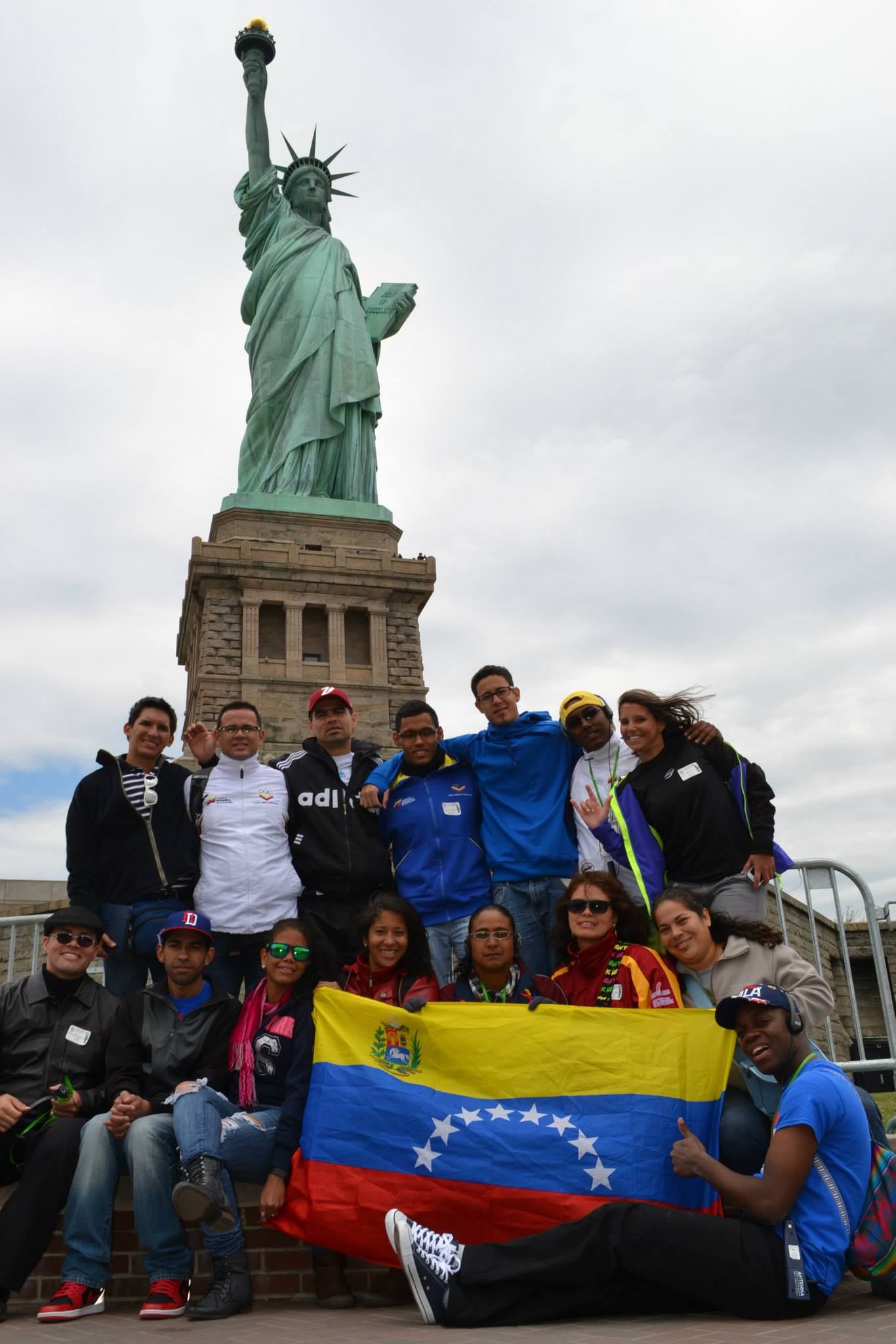 A shot with the Statue of Liberty is pretty much a requirement for any visitor to NY!