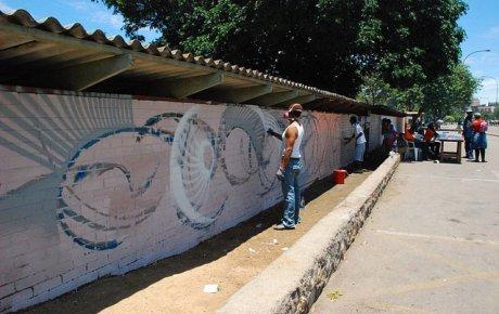 Maxx Moses, a gifted graffiti muralist