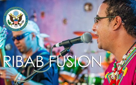 Ribab Fusion, a funk-rock-jazz group that celebrates Morocco's Amazigh (Berber) culture