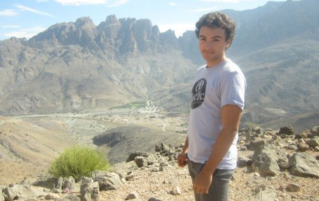 Dylan Hoey in Oman
