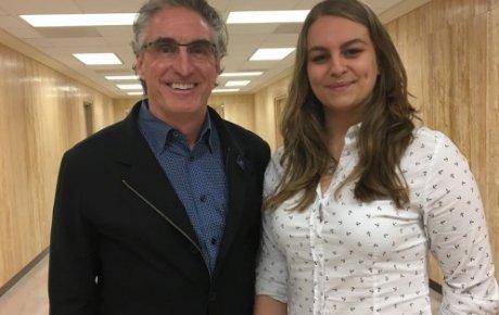 Milica and 2017 North Dakota Governor Doug Burgum