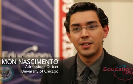 Simon Nascimento speaks about EducationUSA