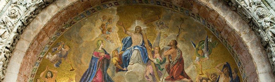 St Mark's Basilica, Venice, Italy.