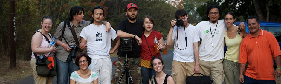 Image of a group of filmmakers.
