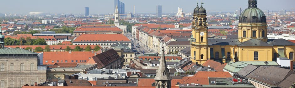 Munich, German skyline