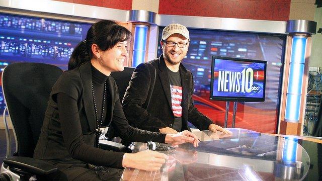 Edward R. Murrow - Russian News10: Russian speaking Edward R. Murrow participants visit ABC News 10 in Sacramento, CA.