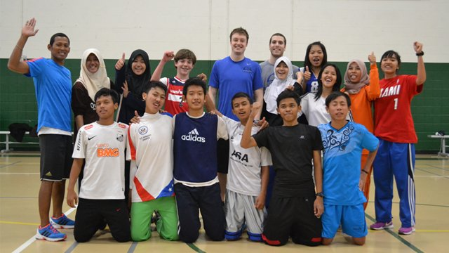 Basketball Youth Visitors: Indonesia in Action  Exchange Programs