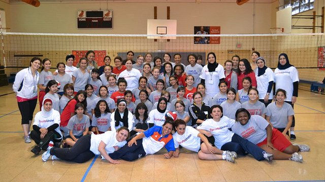 Iraqi Female Volleyball Coaches Visit The U S Exchange Programs