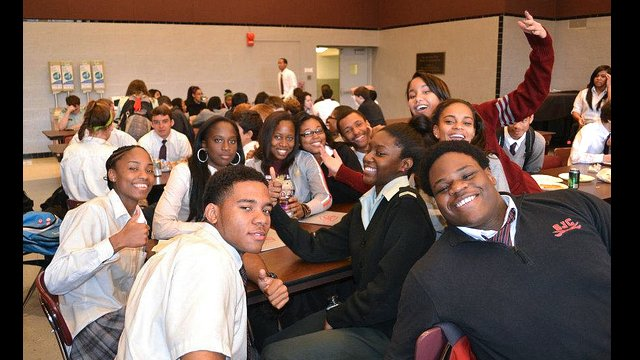 DRC students visited DC-Area high schools to interact with their American peers.
