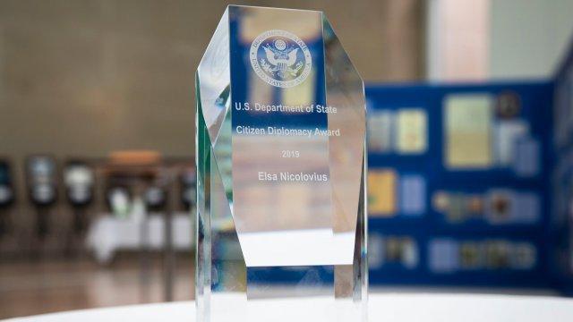 2019 Citizen Diplomacy Award, Elsa Nicolovius