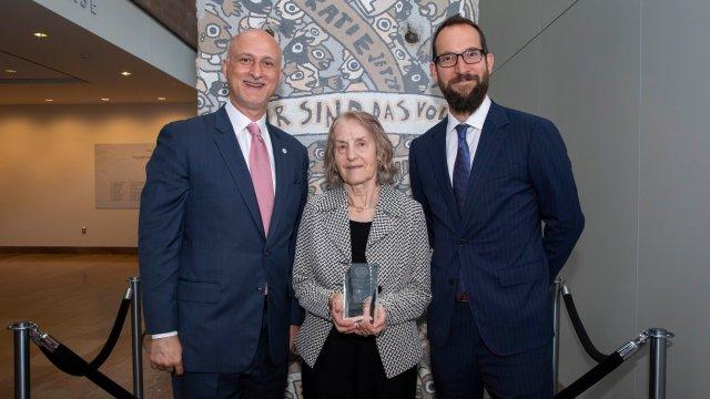 Elsa Nicolovius, 2019 Citizen Diplomacy Awardee