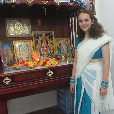 Photo of Kennedy Lugar Youth Exchange Student Hannah Foster