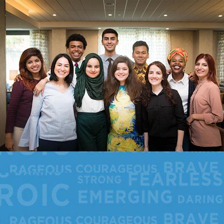 emerging leaders group shot