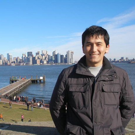 Photo of Nodirjon, a Fulbright Foreign Student Participant