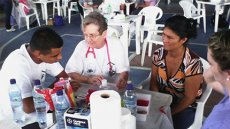 Access Alumni Serve as Interpreters During Medical Mission