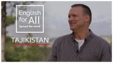 A Day In A Life of a Fellow - Tajikistan #EnglishForAll