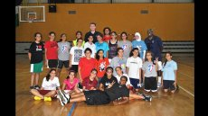 Former NBA Legends Sam Vincent and Andrea Stinson Travel to Jordan