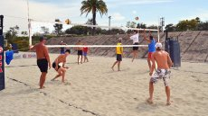 Russian Volleyball Players Visit the U.S.