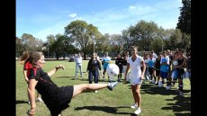Soccer Envoys Keep the Ball Rolling to Empower Women and Girls in Argentina