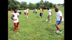 Swaziland Soccer Coaches Visit the U.S.
