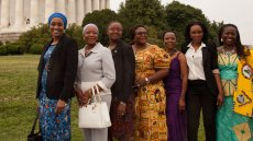 AWEP Women at the Lincoln Memorial