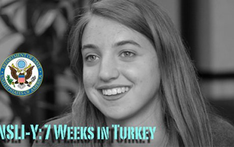 Emily Moran, a 16 year-old from Washington, D.C. studied abroad for 7 weeks in Turkey with the National Security Language Initiative for Youth (NSLI-Y) program.