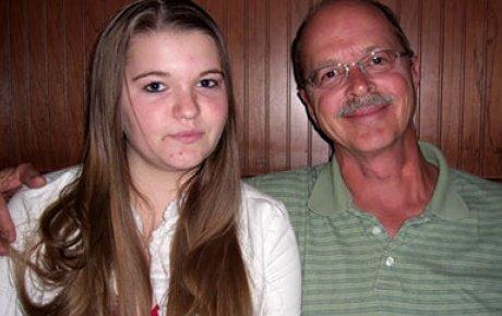 NSLI-Y Participant Alexa S. with her dad.