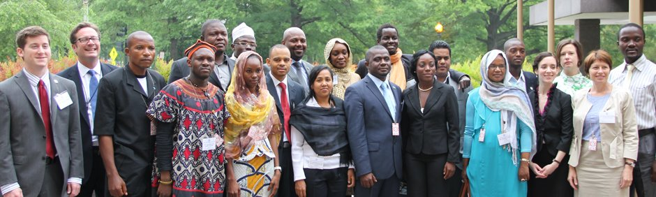 American Council of Young Political Leaders participants.