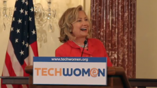 Secretary Clinton and Assistant Secretary Stock Address the TechWomen Initiative